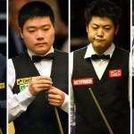 Shanghai Masters pontszerző torna 2013-09-16