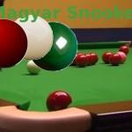 Aktuális magyar snooker ranglista 2014