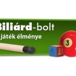 Biliard-bolt.hu webáruház – snooker asztalok, dákók, kiegészítők