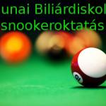 Dunai Biliárdiskola snooker oktatás