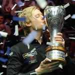 Neil Robertson elérte a Triple Crown győzelmet