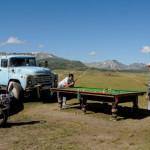 Kazah snooker érdekesség az Altaj-hegységből
