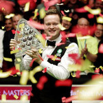Shaun Murphy a Masterssel Triple Crown tag is lett