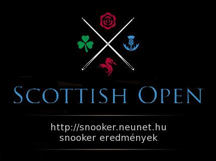 snooker scottish open 2019