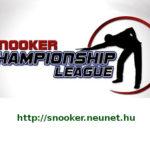 Championship League – győztesek csoportja 2019