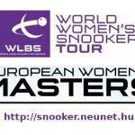 European Women's Masters 2018