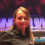 Desislava Bozhilova női snooker bíró