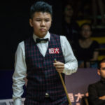 Zhou Yuelong első 147-es maximum break