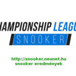 Championship League – 4-6. csoport 2021